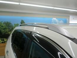 【ルーフレール】SUVをよりSUVらしく!見た目の満足度も上がるアイテムが装備されています!