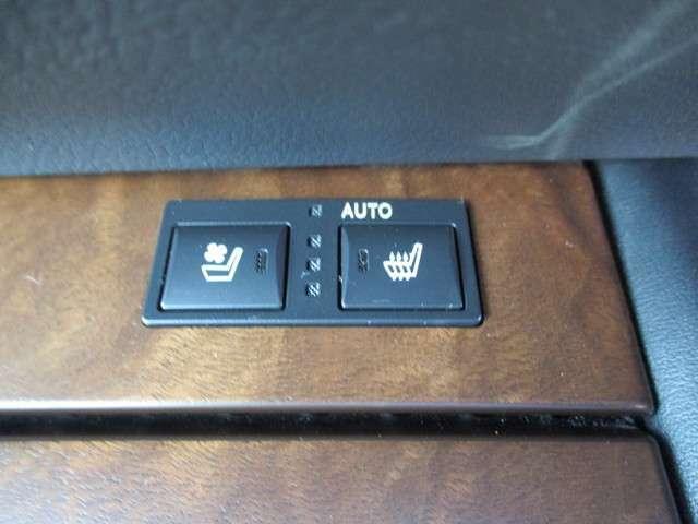 シートヒーター&エアコンで運転中もさらに快適にしてくれます!