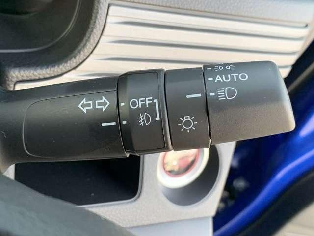 【 オートライト 】オートライトなのでライトの点け忘れを気にすることなく運転が出来ます♪