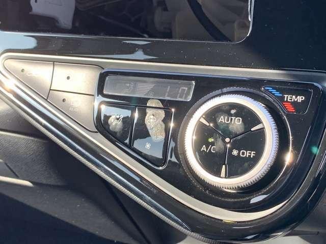 【 オートエアコン 】車内温度を感知して自動で温度調整をしてくれるのでいつでも快適な車内空間を創り上げます!