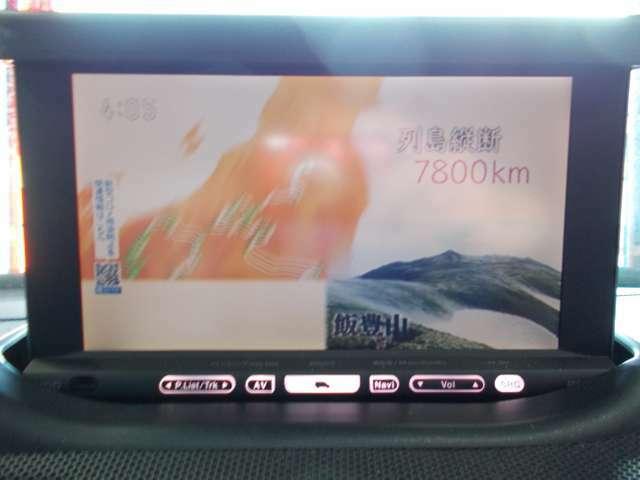 HDDナビ 地デジフルセグテレビ CD録画 DVD再生 AUX 後席モニター2個