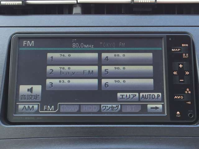 【AVソース】 CD・ワンセグTV・DVDなど様々なメディアのオーディオを利用できます!