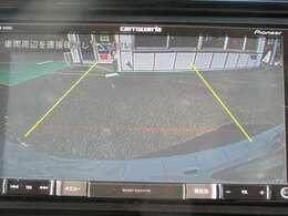 ★バックモニター搭載★ バック時目視しにくいクルマの周囲をカメラで映し出し、安全・安心駐車をサポート♪バックの苦手な方も後ろがハッキリ見えるので安心です☆