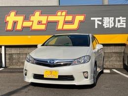 トヨタ SAI 2.4 S 車高調 純正HDDナビ バックモニター