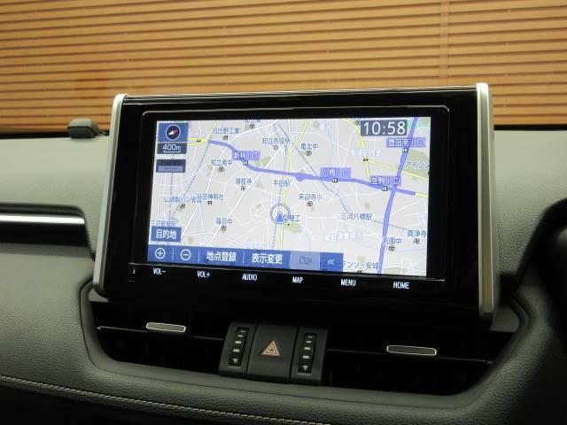 純正9型SDナビを装備でロングドライブも快適です。フルセグTV視聴可能!