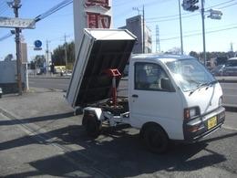 三菱 ミニキャブトラック 4WD ダンプ L