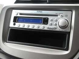 フィットに付いているギャザズ1DIN CDチューナー(CX-84)はCDプレーヤー・AM/FMチューナー付です。お好みの音楽を聞きながらのドライブは楽しさ倍増ですね!