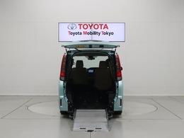 トヨタ ノア 2.0 X ウェルキャブ スロープタイプI 車いす2脚仕様車 衝突軽減 左側電動ドアSDナビ Bカメラ 7人