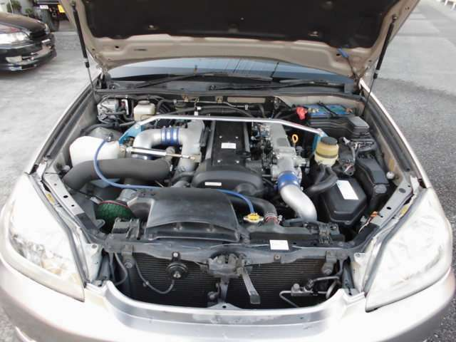 社外エアクリ装着、8万キロタイミミグベルト、ウォーターポンプ交換済で快調なエンジンです。