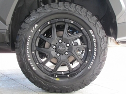 新品ナイトロ17インチAWに新品BFグッドリッチATタイヤの組み合わせ!