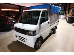 三菱 ミニキャブトラック エアコン パワステ 幌車 軽運送 特装車 エアコン パワステ