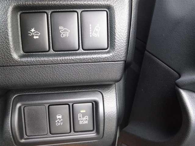 衝突軽減ブレーキなどのスイッチ類です、お好みに合わせてご使用ください。