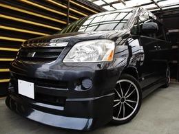トヨタ ノア 2.0 X 特別フルエアロ仕様後席天井モニタ黒本革