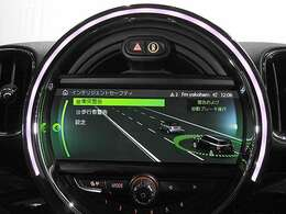 アクティブクルーズコントロールは前車追走型(ストップ&ゴー機能付) 前車接近警告(歩行者検知機能付) 衝突被害軽減ブレーキ 警告タイミングは3段階で調整可能