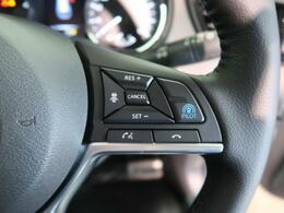高速道路で便利な【レーダークルーズコントロール】も装着済み。アクセルを離しても一定速度で走行ができ、前車を追従してくれる装備です。加速減速もスイッチ操作でOKです。
