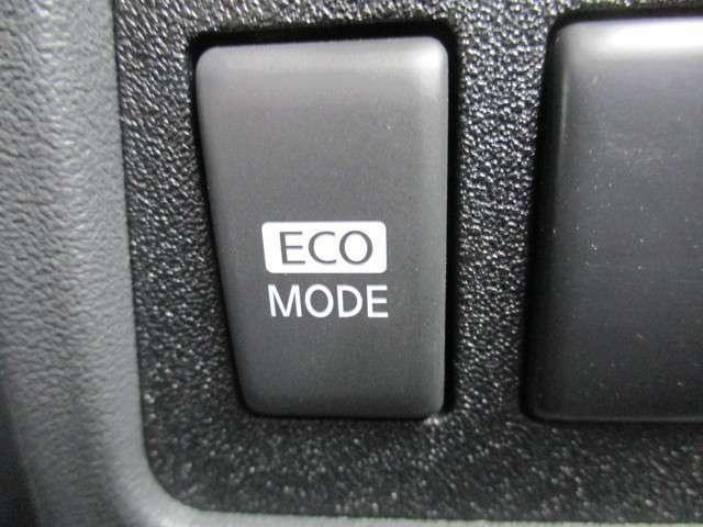 ECOモードも付いています。