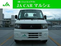 三菱 ミニキャブトラック 660 VX-SE エアコン付 4WD エアコンパワステ 荷台作業灯 工具箱