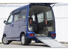 スバル ディアスワゴン トランスケア スロープタイプ 4WD ターボ ナビフルセグ 車イス電動式固定 ETC
