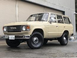 トヨタ ランドクルーザー60 4.0 VX ハイルーフ 4WD ガソリン 1ナンバー ナビTV ナローカスタム