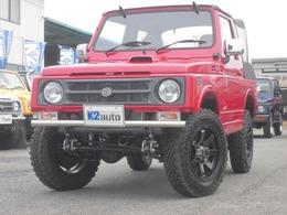スズキ ジムニー 660 フルメタルドア CC 4WD 幌タイプ リフトアップファイナルリーフ