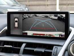【 MOP パノラミックビューモニター 】上空から見下ろしたような映像を映し出し周囲の状況を確認しながらの駐車・走行等が可能となっております!