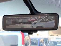 【 MOP インテリジェントルームミラー(セーフティA) 】アラウンドビューモニター表示機能付き!後席の乗員や荷物に遮られることなくクリアな後方視界を確保することが可能です!