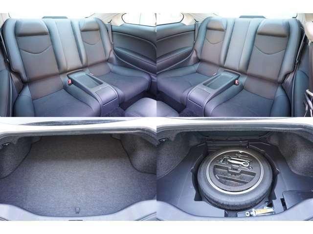 ★セカンドシート、トランク内の隅々までクリーニング済み!!★