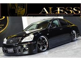 トヨタ クラウンマジェスタ 4.3 Cタイプ 黒革 サンルーフ SSキット AME20in