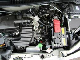 優れた燃費性能と軽量化を実現し、力強い走りを実現するR06A型エンジン。