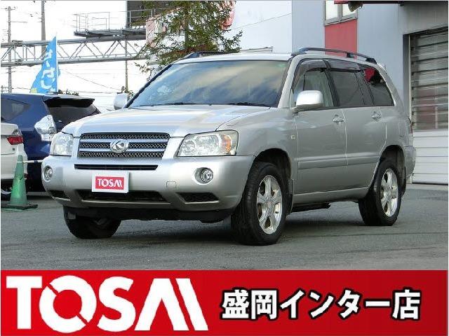 トヨタのハリアーHVの兄弟車!クルーガーHV!!
