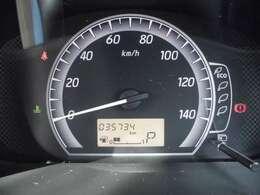 走行距離35734kmです!