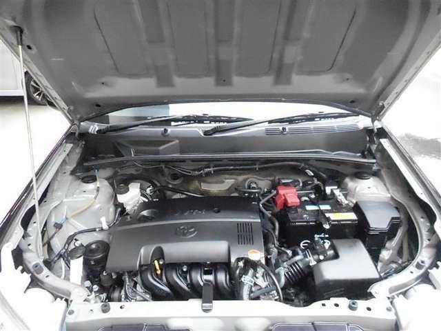 【エンジンルーム】 徹底洗浄され 整備もバッチリです