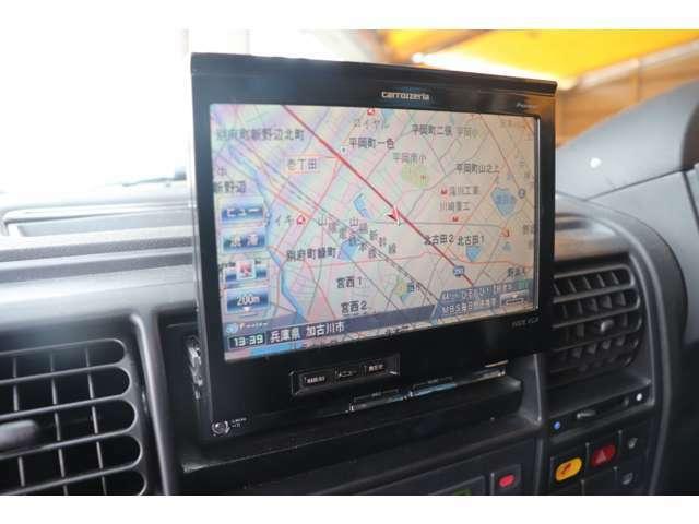 カロッツェリアHDDサイバーナビ地デジTV。DVDビデオ再生可能です。