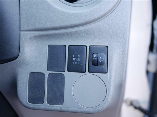 エコアイドル搭載車です。アイドリングストップ機能で燃費の良い走りが出来ます。