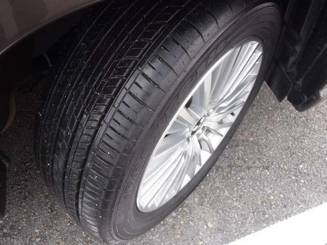 タイヤの溝は心配なさそうだ!