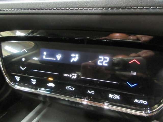 エアコンはオートエアコンで空調管理も車が快適な温度に自動で調節してくれます。