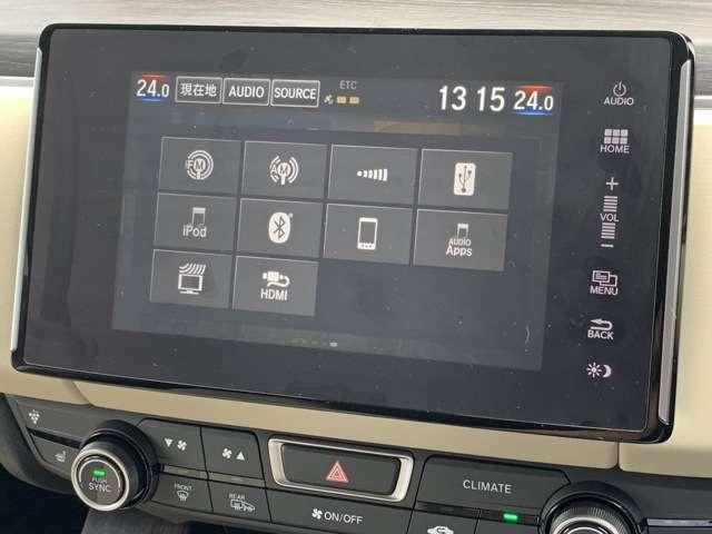 Bluetoothによる携帯電話との接続も可能です♪