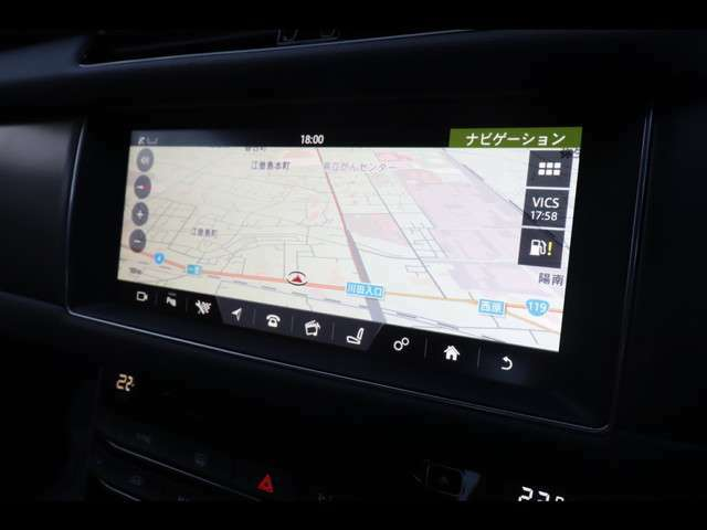 デジタルテレビ内蔵ナビゲーション。使いやすさも重視され設計されています。お持ちのスマートフォンにも連動致します。