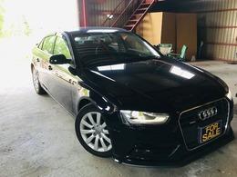 アウディ A4 2.0 TFSI クワトロ SEパッケージ 4WD 本革シート 本州仕入車 パドルシフト
