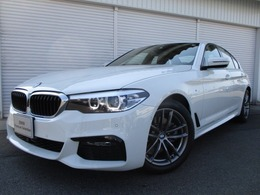 BMW 5シリーズ 523d xドライブ Mスピリット ディーゼルターボ 4WD LEDヘッドライト18AWデモカー認定中古車