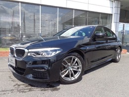 BMW 5シリーズ 523d xドライブ Mスピリット ディーゼルターボ 4WD アドバンス18AWデモカー認定中古車