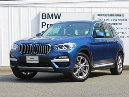 BMW X3 xドライブ20i xライン 4WD デモカー モカレザー 19インチAW