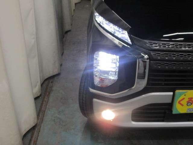 明るく消費電力の少ないLEDヘッドライト!