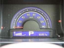 入庫時の走行距離を表示しています。視認しやすさもポイントですね!!