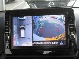 便利な移動物検知機能付アラウンドビューモニターが付いて狭い道や駐車時などで役立ちます