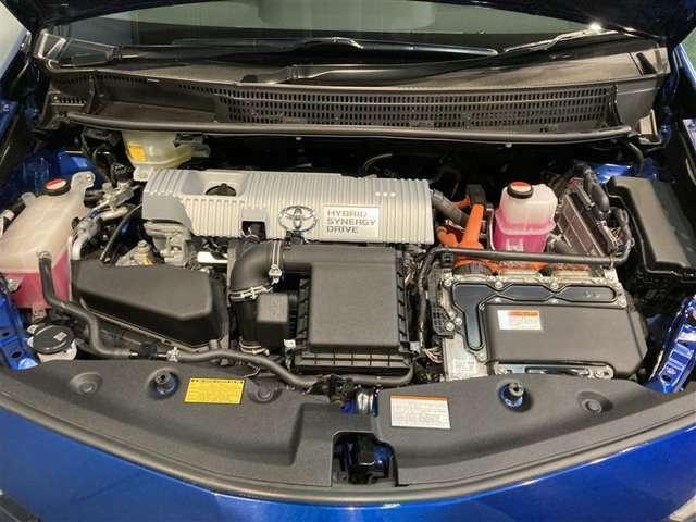 エンジン、モーターの切り替えなどは、すべて全自動。普通のクルマと同じようにお乗りいただけます!