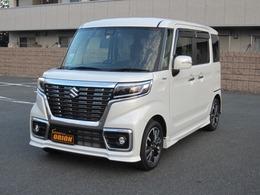スズキ スペーシア 660 カスタム ハイブリッド XS 4WD 衝突軽減 ナビTV 禁煙車