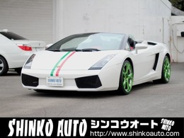 ランボルギーニ ガヤルドスパイダー eギア 4WD