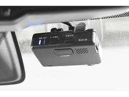 純正ドライブレコーダーを装備。万一のトラブルや予期せぬ事故が起こったときの事故原因解明や、スムースな事故処理等に役立ちます。