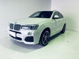 BMW X4 xドライブ35i Mスポーツ 4WD 本革シート レーダーセーフティー
